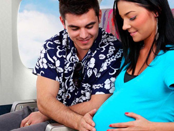 Беременная лететь в испанию